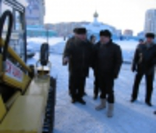 Mayor of Kazan acquaints himself with a course of works on snow cleaning