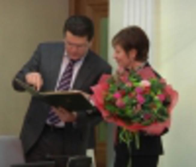 "The Mayor of Kazan has congratulated a broadcasting company ""Kazan"" on..."