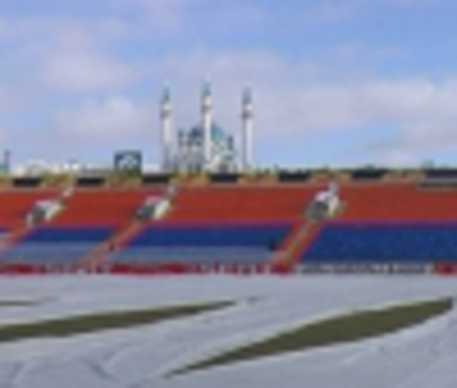Kazan is ready to football matches of League of Europe