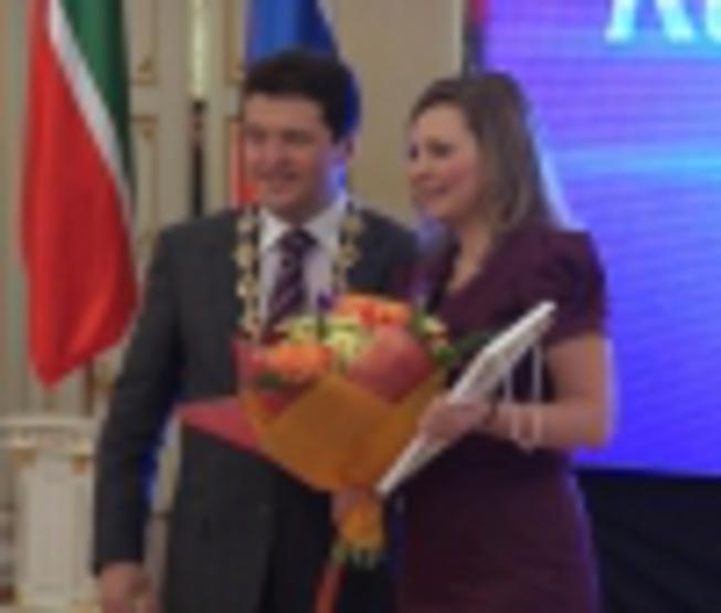 The best teacher-2010 in Kazan became the teacher of chemistry