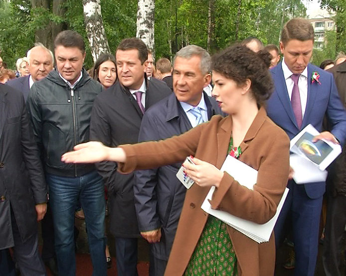 В Казани после реконструкции открылся парк Урицкого