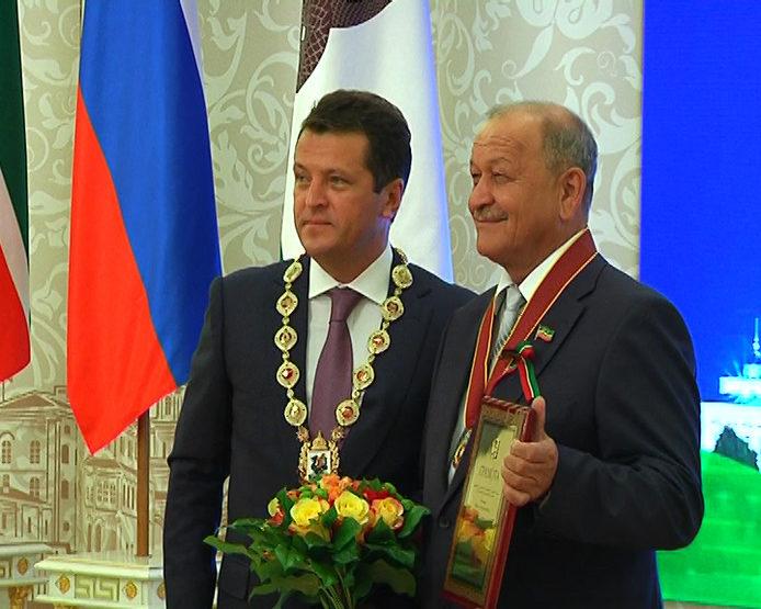 В Казанской ратуше чествовали Почетных граждан города