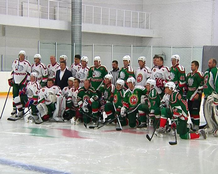 Товарищеский хоккейный матч в честь Р.Якубова