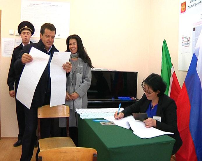 И.Метшин призвал казанцев прийти на избирательные участки