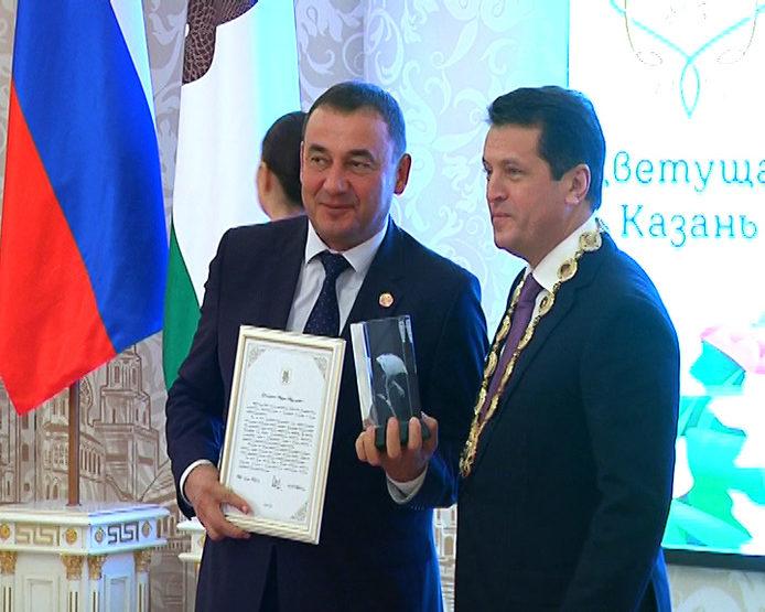 В Ратуше наградили победителей проекта «Цветущая Казань-2016»