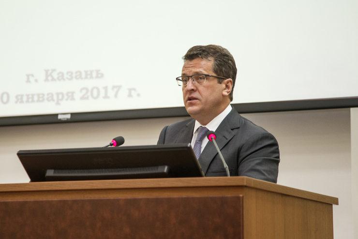 Отчетное совещание Управления МВД РТ по Казани с участием И.Метшина, 20.01.2017