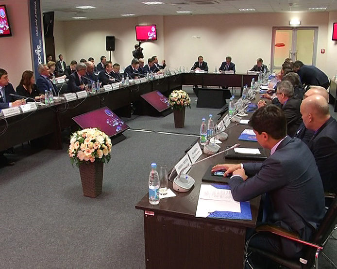 The meeting on holding of the Confederations Cup FIFA-2017