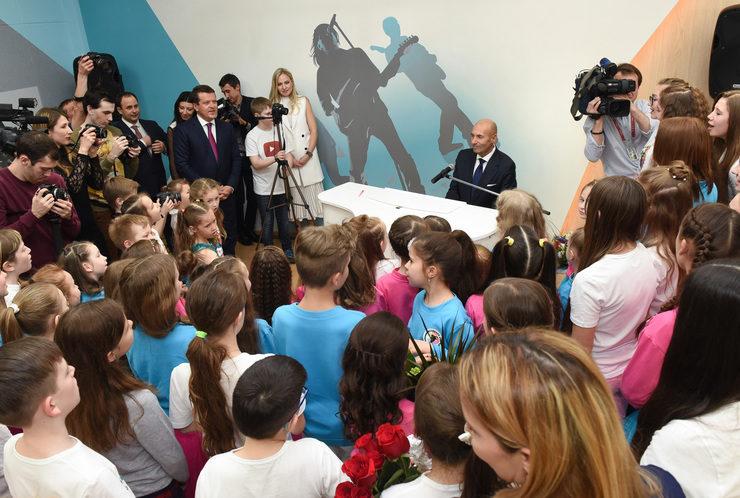 В Казани открылась Академия популярной музыки Игоря Крутого (Поволжье)