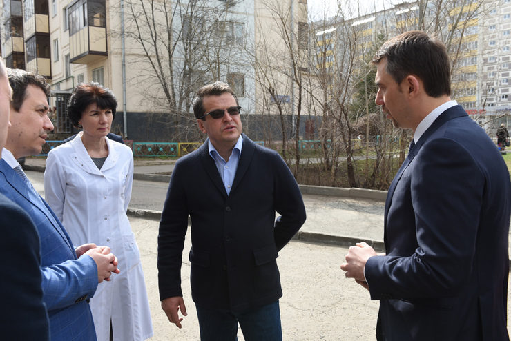 I. Metshin visited the branch of the city children's polyclinic №10