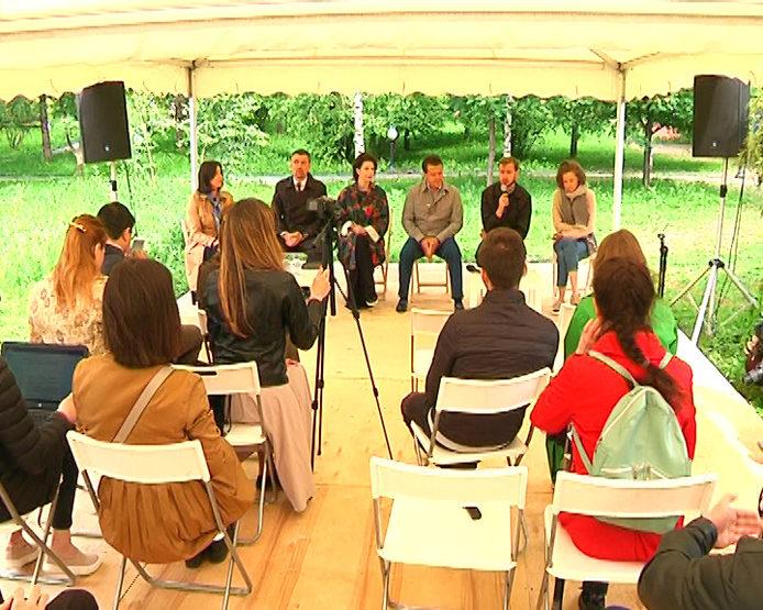Пресс-конференция о старте Летнего книжного фестиваля