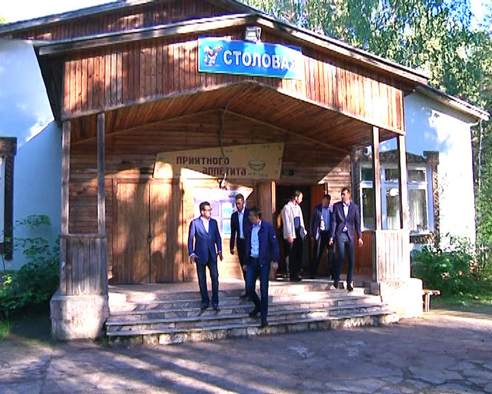 "I. Metshin inspected the summer camp ""Molodezhny"""