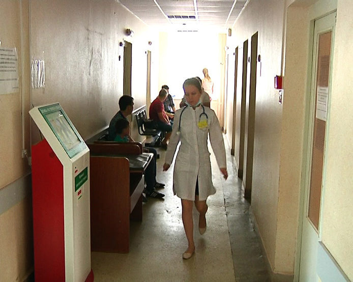 The Mayor of Kazan inspected the overhaul process in the children's polyclinic №6
