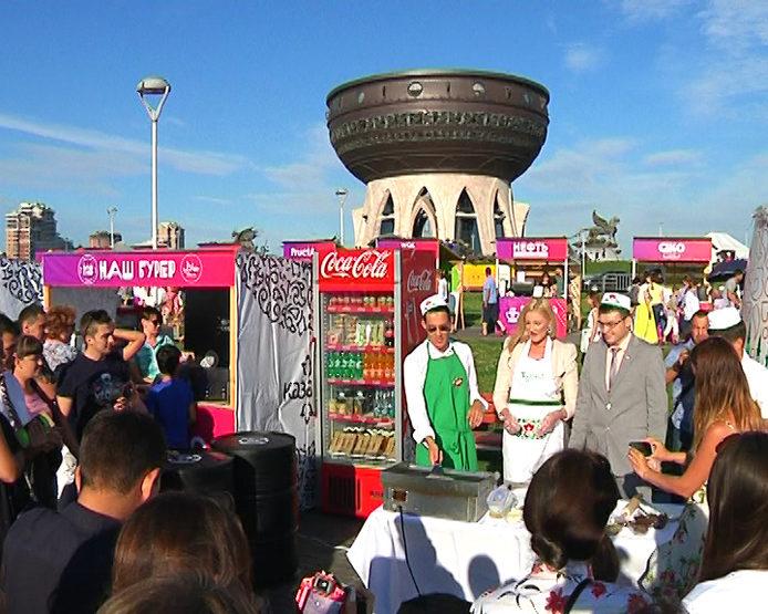 За 3 дня площадку фестиваля «Вкусная Казань» посетили 45 тыс. человек