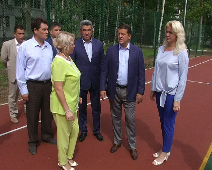 A new sports ground will open on the territory of the gymnasium №4