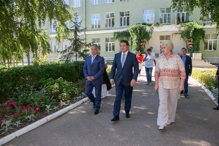 The visiting of the Tatar Gymnasium №1 named after G. Tukay
