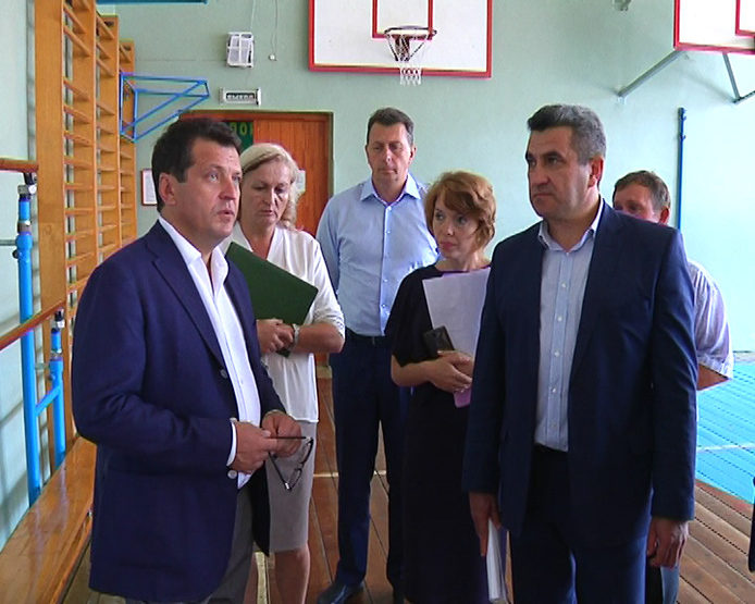 И.Метшин посетил школу №113