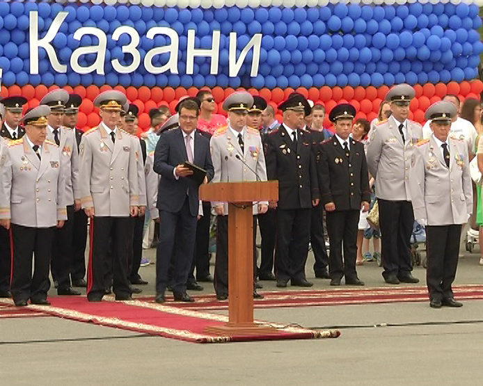 The Office of the Ministry of Internal Affairs of the RF for Kazan celebrated its 40th anniversary