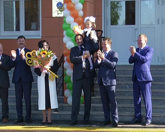 The opening of the multidisciplinary school №181 in the Sovetsky district