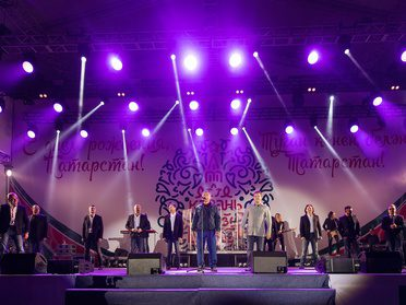 "The ""Song Festival"" in Kazan with the ""Turetsky Choir"""