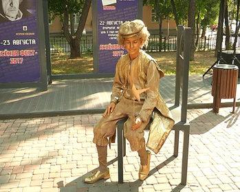 В сквере Аксенова появились новые арт-объекты