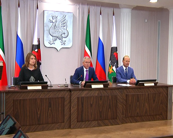 The Cross of Corporations was held in Kazan