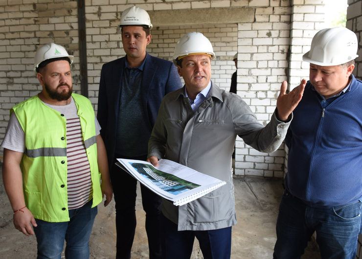 The new kindergarten for 340 places is being built in the Sovetsky district of Kazan