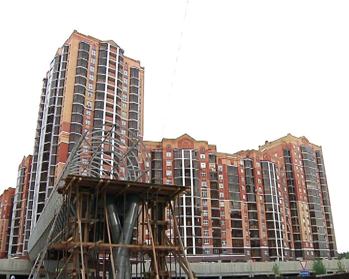 "The last section for 136 apartments was delivered in the RC ""Solnechny Gorod"""