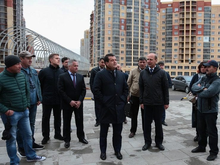"I. Metshin: ""We did it together, 136 apartments were put into operation"""