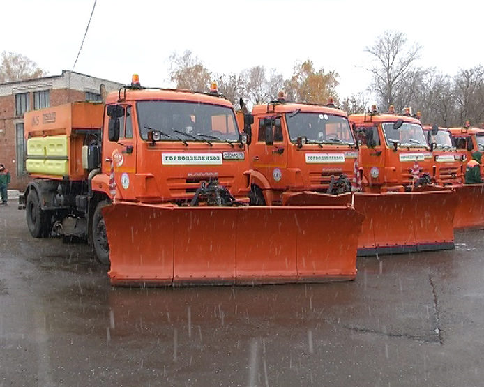 I. Metshin inspected the readiness of road services to work in winter mode, 10/25/2017