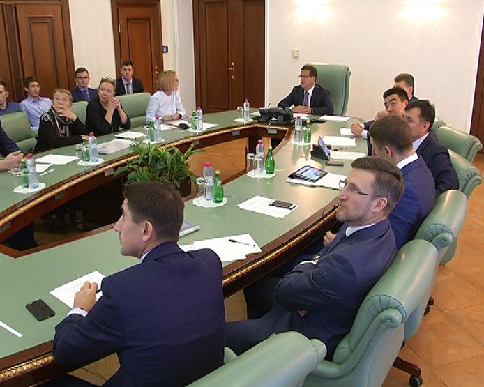 The meeting on the improvement of streets and projects of small architectural forms in Kazan