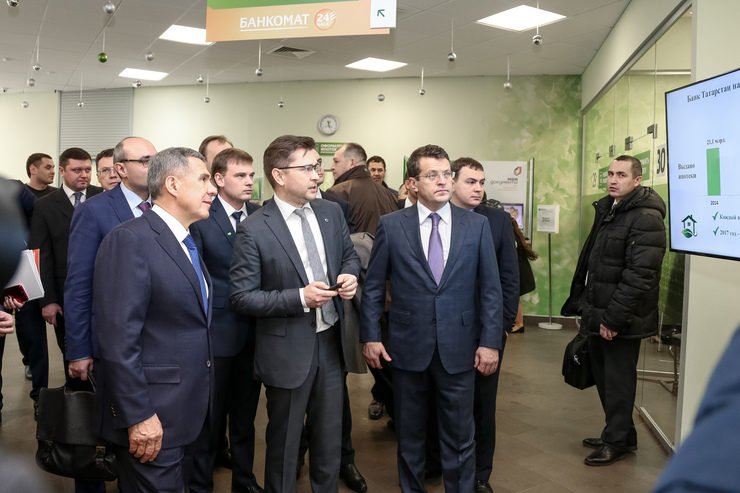 The opening of the multifunctional business center, 12/11/2017