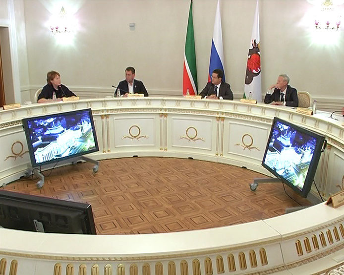 The meeting of the Board of Guardians of the Law Faculty of the KFU was held in the Kazan City Hall, 12/12/2017