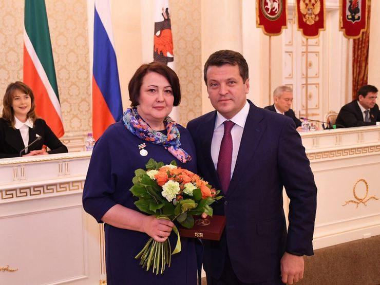 В Казанской ратуше вручили республиканские и городские награды