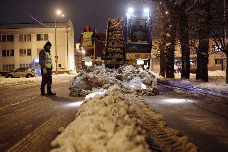 И.Метшин об уборке снега: «Надо серьезно поработать, пока погода позволяет»