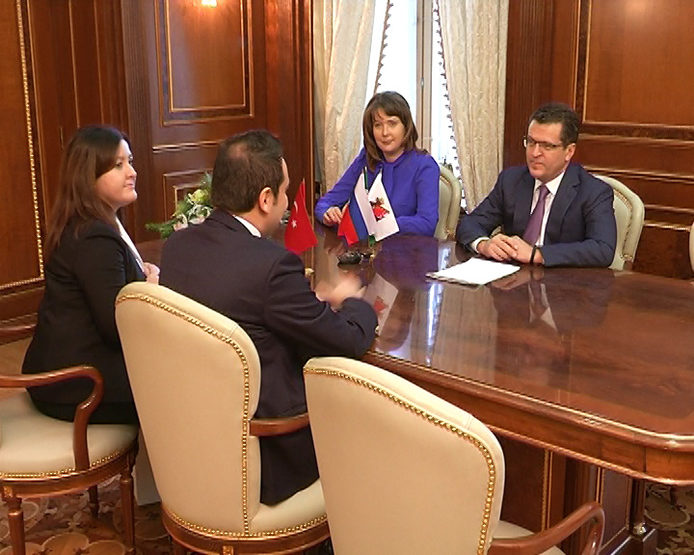 The meeting with the Consul General of Turkey in Kazan