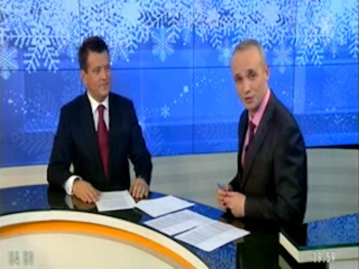 "The program ""Theme"" on the TV channel ""Efir"", 12/22/2017"