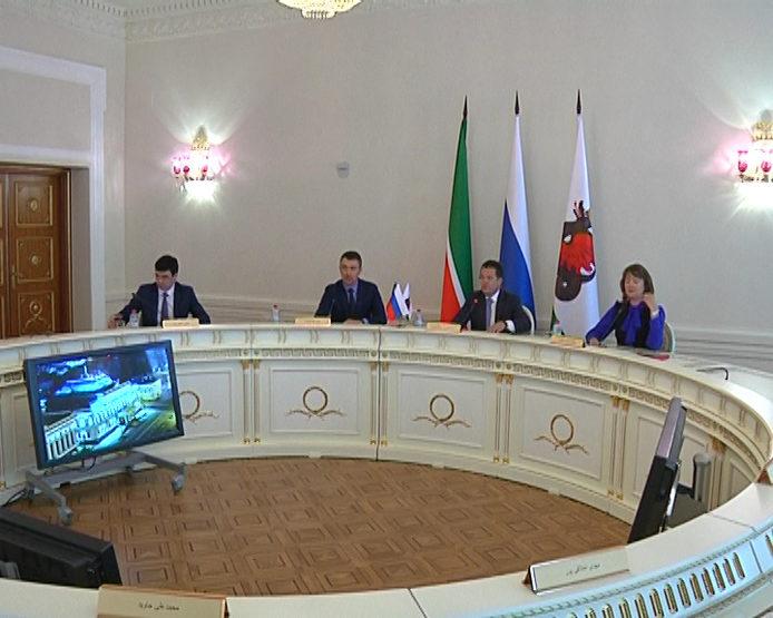 Ильсур Метшин встретился с делегацией Республики Иран (20.02.2018)