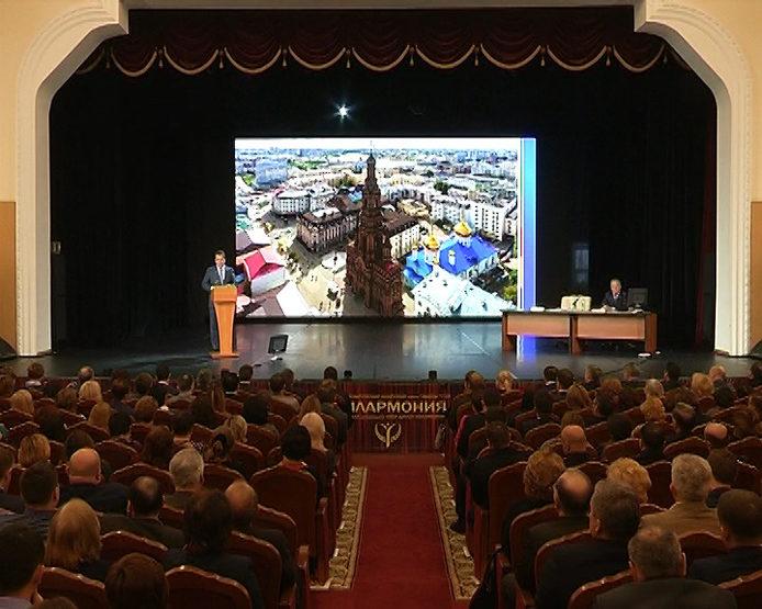 Ильсур Метшин ответил на вопросы актива Вахитовского и Приволжского районов