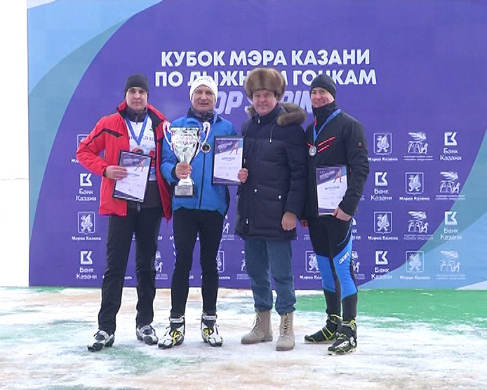 Competitions for the Mayor's Cup on cross-country skiing Top Sprint