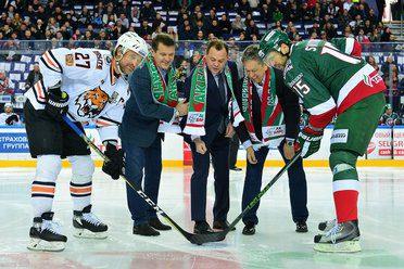 Ильсур Метшин, Наиль Маганов и Рафик Якубов дали победный старт серии плей-офф «Ак Барс» в Казани