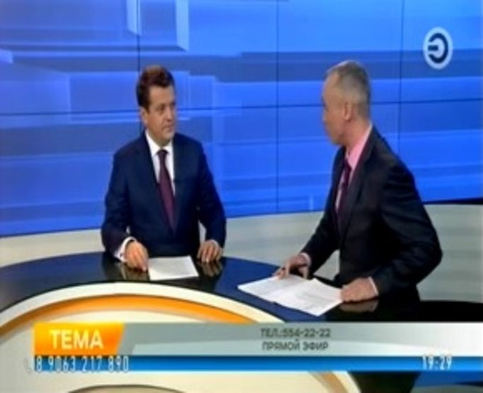 "The program ""Theme"" on the TV channel ""Efir"", 03/14/2018"