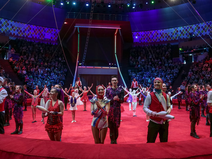 The circus opened in Kazan after reconstruction