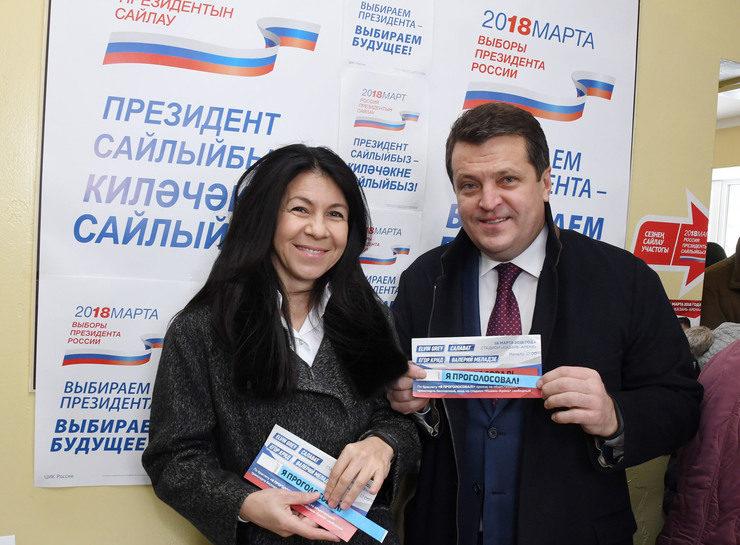 И.Метшин на выборах Президента РФ: «Сегодня мы выбираем будущее нашей страны»