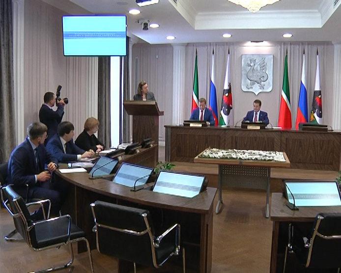 В Исполкоме Казани рассмотрели вопросы строительства в историческом центре