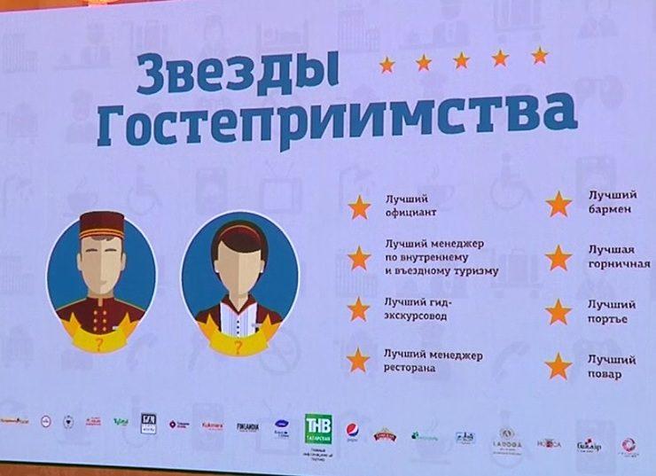 В Казани наградили победителей конкурса «Звезды гостеприимства», 22.03.2018