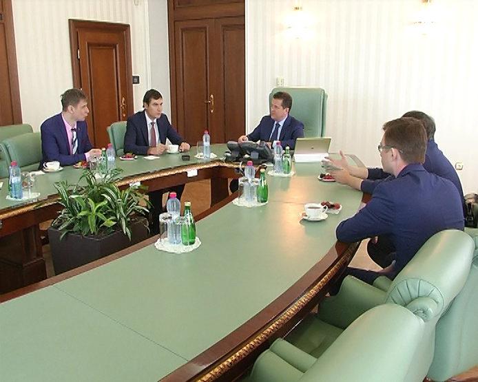 Ilsur Metshin has met with writer Sergei Shargunov