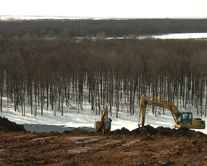 The technical stage of reclamation of the Samosyrovskaya dump is finishing In Kazan