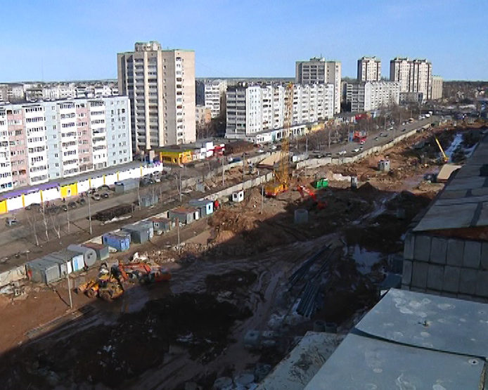 "Ilsur Metshin demands to speed up the construction of the metro station ""Dubravnaya"""