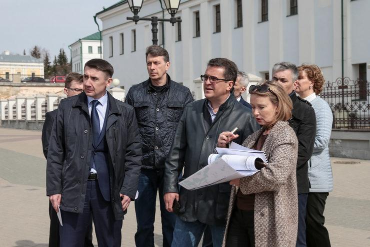 Рабочий объезд по вопросам благоустройства Казани