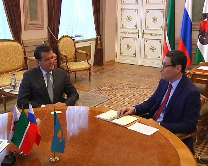 И.Метшин встретился с генконсулом Республики Казахстан в Казани